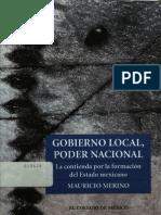 Gobierno Local, Poder Nacional Mauricio Merino