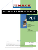 Materiales Refractarios Terminado