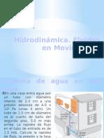 Hidrodinamica fluidos y movimiento