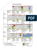APSS Secondary Calendar 2015