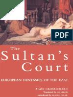 Alain Grosrichard Sultans Court European Fantasies of the East 1979