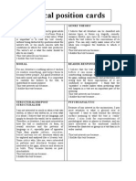 Module7 Critical Position Cards