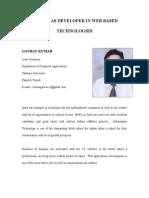 Article Career in Web Development