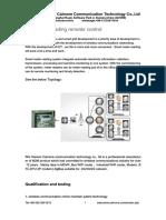 Meter Reading Remoter Control-C1130