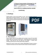 DTU Apply in Vending Machine-C1130