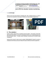 Xiamen Caimore's DTU for Elevator Remote Monitoring-C1130