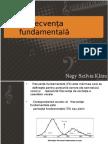 Frecvenţa fundamentalădfg