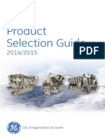 GE Marine Product Selection Guide 2014 2015