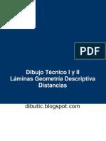 Geometría Descriptiva - Distancias