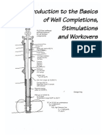 Intro Well Completions Stimulations Workovers