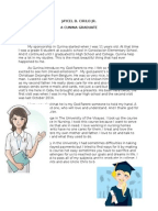 My graduation essay