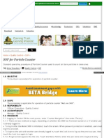 Www Pharmaguideline Com 2011 03 Sop for Operation of Particl