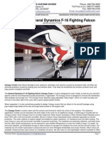 General Dynamics F-16 Fighting Falcon—Tech Sheet