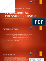 Intracranial Pressure Sensor