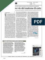 2015, Novembre - Corriere della Sera