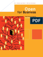 Open for Business - Open Source Inspired Innovation