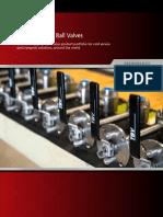 Tbv Cryogenic Ball Valves CAMERON