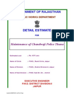 01 Estimate Maintenance Police Thana Chandwaji