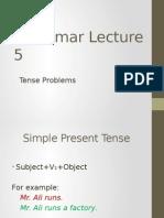Grammar Lecture 5