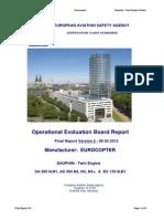 EASA OEB Final Report Eurocopter AS365 EC 155 B B1!02!08022012