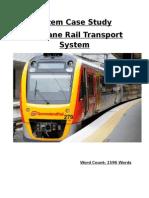 Rail Transportation - System Case Study 1