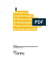 Guia Para a Caracterização de Risco No Âmbito Da Elaboração de Planos de Emergência de Protecção Civil