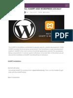 How to Install XAMPP and Wordpress Locally