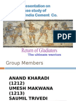 cenral india cement co. by Gladiators