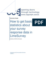 How to Get Basic Statistics About Your Survey Response Data in LimeSurvey_2