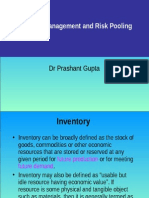 Inventory & Risk Pooling