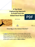 A Top-Down Engineering Approach to Profit From the Global Market