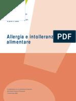 Allergia e Intolleranza Alimentare