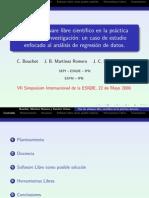 Uso de Software Libre Cientıfico Practica Docente e Investigacion