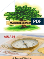 Macroeconomia Modelo Clássico