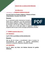 Nivel Jerarquico de La Legislación Peruana