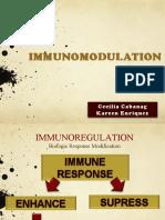Immunopotentiation