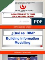 Clase 1 Conceptos y Aplicaciones Bim