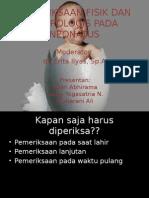 Pemeriksaan Fisik Dan Neurologis Pada Neonatus