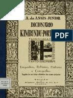 Dicionário Kimbundu-Português