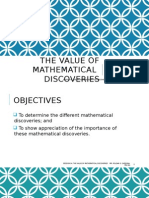 Session 04. the Value of Mathematical Discoveries