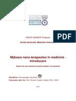 Mijloace Nano-Terapeutice in Medicina