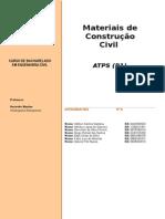 2 - ATPS - Materiais de Construcao Civil