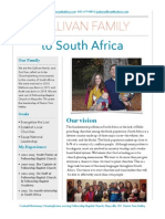 sullivan family south africa informatin packet  1