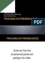 Trauma Extremidades