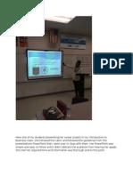 kierra presenting