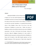 Discoveries of Buddhist Manuscripts in Nepal