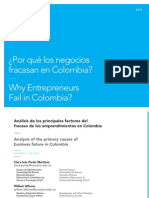Por qué fracasan las empresas en Colombia