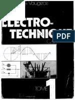 Electro-technique Tome 1 - G.vaugeois