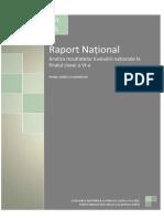 Raport National Evaluare clasa a IV-a la Limba Si Comunicare