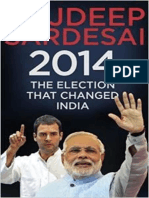 2014 the Election That Changed India, Rajdeep Sardesai